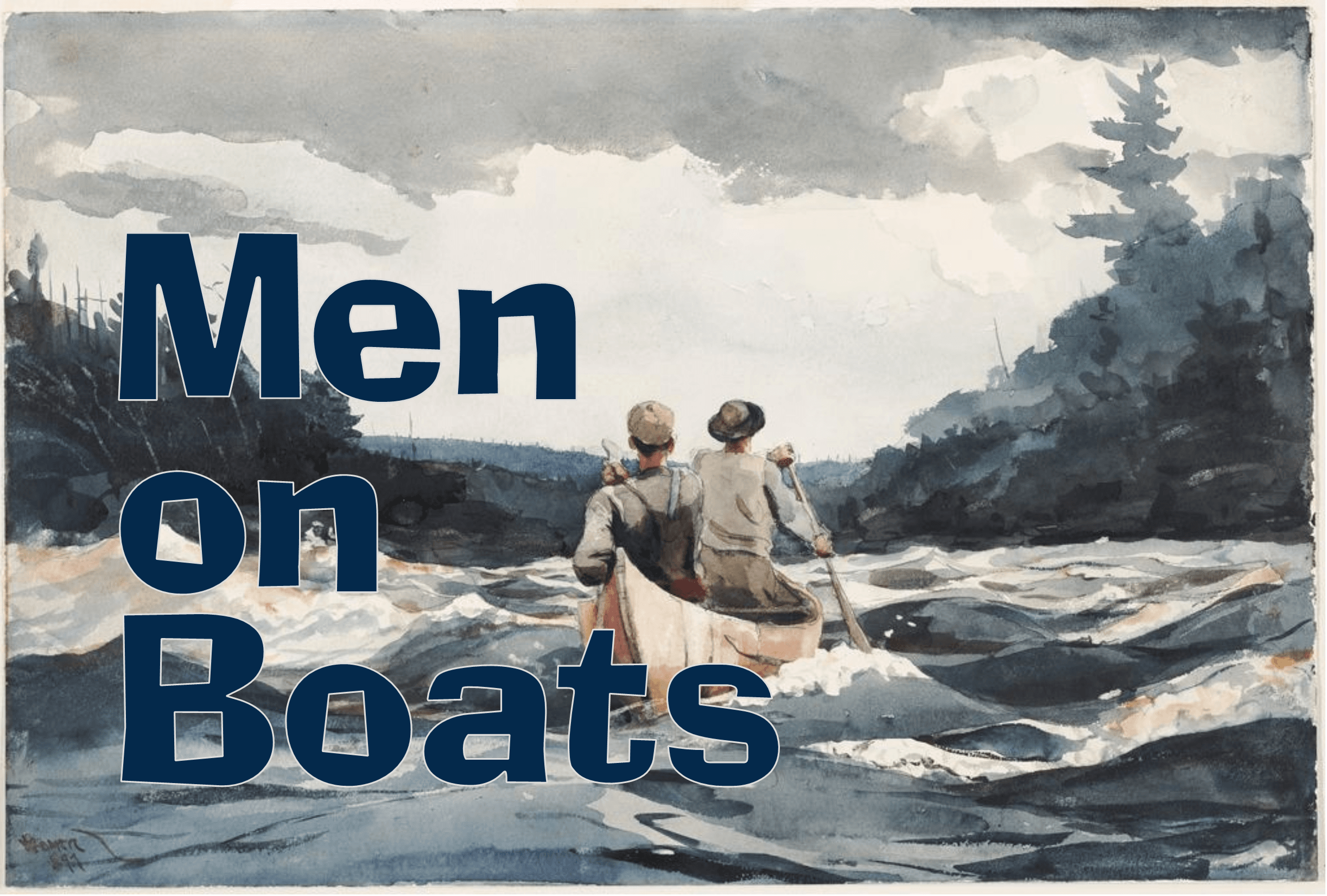 Men on Boats Logo