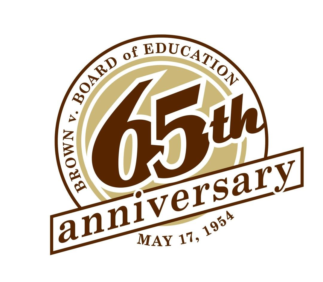 Brown v BOE 65th anniviversary logo