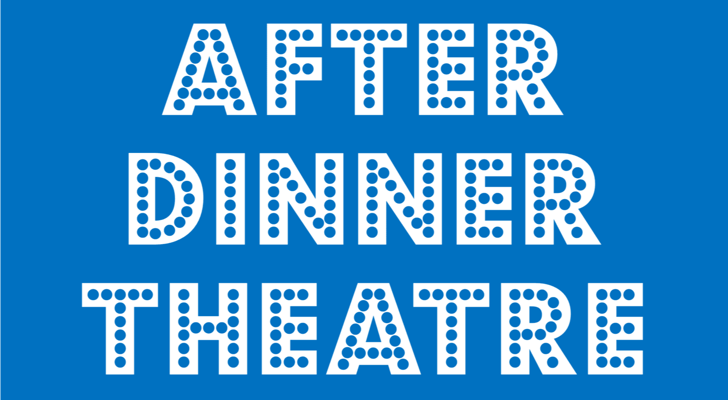 After dinner theatre logo